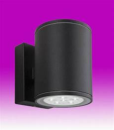 vegas twin led wall light black