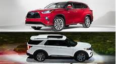 toyota new highlander 2020 auto showdown 2020 toyota highlander vs 2020 ford