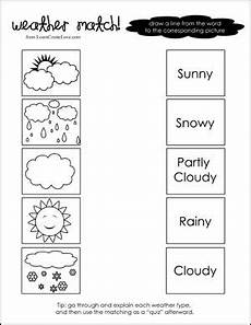 weather patterns worksheets 292 weather match printable weather seasons for preschool for preschool