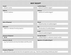 free rent receipt template excel 50 free receipt templates sales donation taxi