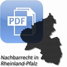 Nachbarrechtsgesetz Rheinland Pfalz 2019 Pdf