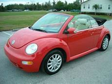 old car manuals online 2005 volkswagen new beetle electronic valve timing sell used 2005 volkswagen beetle gls convertible 2 door 2 0l in kissimmee florida united