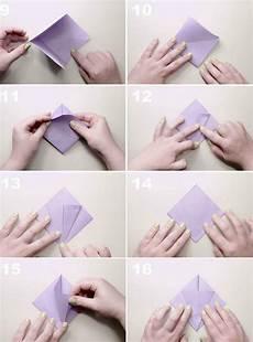origami blume falten anleitung 7 ideen f 252 r einfache