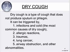 dry barking cough adults