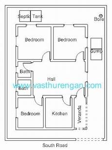vastu south facing house plan vastu plan for south facing plot 4 vasthurengan com