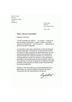 lettre de contestation d amende mod 232 les de lettres de contestation pour contester efficacement