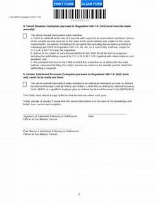 form nrw exemption fillable form nrw exemption affidavit by nonresident of exemption rev 7 13