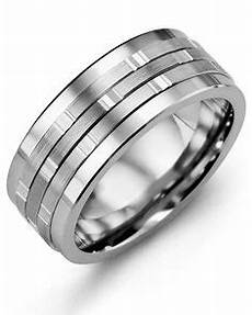 men s diamond tungsten carbide wedding ring with 10kt white rose gold inlay 9mm comfort fit