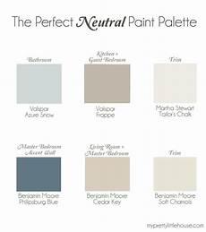 the perfect neutral paint palette benjamin moore cedar key philipsburg blue soft chamois