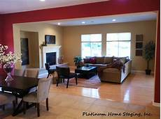open floor plan in wood ranch sets the stage dream home design home living room update