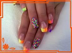 nehty leto mischigan my work gel nails 3