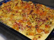 Kartoffel Kürbis Auflauf - k 252 rbis kartoffel auflauf cookeandbake chefkoch de