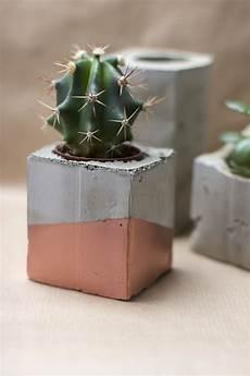 Diy Vasen Aus Zement We Handmade