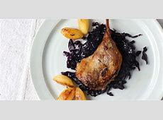 duck l orange with braised red cabbage_image