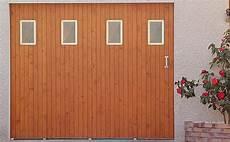 Porte De Garage En Bois Coulissante Les Menuiseries