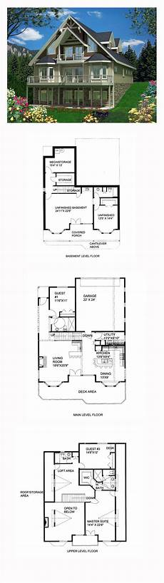 29 best images about steep slope house plans on pinterest
