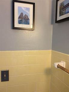 yellow bathroom tile with grey walls new house pinterest grey walls grey and tile