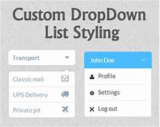 dropdown menu jquery plugins
