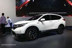 Spec 2018 Honda Cr V Abandons Diesel For Hybrid