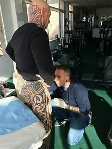 bodybuilder wraps penis around rolling pin to finish