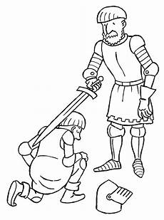 coloring page knights coloring pages 8