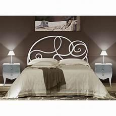 lit blanc fer forgé t 234 te de lit en fer forg 233 mod 232 le bruxelles achat