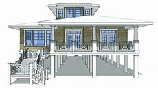 waterfront house plans on pilings waterfront hjemme planer p 229 stilts piling house design