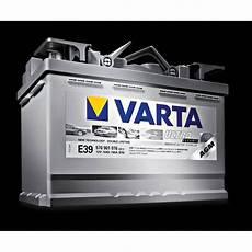 Batterie Voiture Varta Start Stop Agm E39 70ah 760a