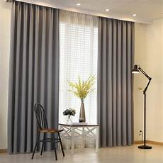 Gardinen Modern Schlafzimmer - napearl modern curtain plain solid color blackout