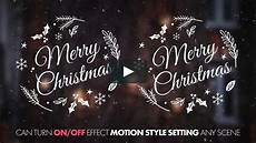 merry christmas titles iii after effects templates vimeo