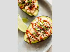 tuna stuffed avocado_image