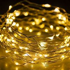 warm white battery powered 100leds copper wire xmas party string fairy light 10m ebay
