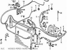Honda Accord 1982 4dr Dx Kl Ka Kh Parts List Partsmanual