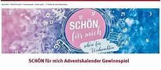 Rossmann Adventskalender Gewinnspiel Sch 246 N F 252 R Mich Kalender