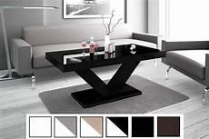 couchtisch schwarz hochglanz design couchtisch hv 888 schwarz hochglanz highgloss tisch