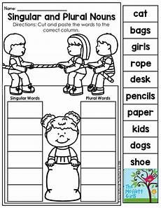 mastering grammar and language arts singular plural