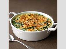 creamed spinach gratin image