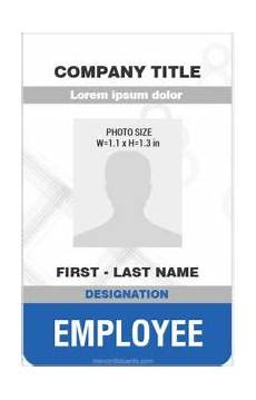 how to make id card template in word microsoft word id card templates