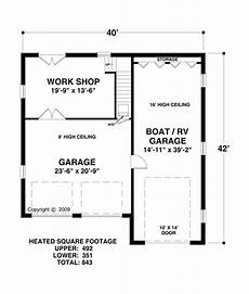 house plans with rv storage craftsman style 2 car garage apartment plan number 74837