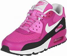 nike air max 90 youth gs schuhe pink schwarz