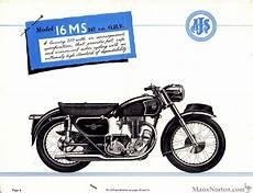 ajs 1956 catalogue 16ms ajs 1956 catalogue 16ms