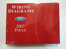 electric and cars manual 2007 ford focus electronic valve timing 2007 ford focus electrical wiring diagrams service shop repair manual used ewd ebay