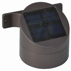 moonrays solar powered led bronze outdoor wall deck sconce 91851 the home depot