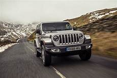 2019 jeep wrangler priced in britain with 2 0 turbo and 2