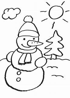 malvorlage kinder schneemann kostenlose malvorlage schneem 228 nner schneemann ausmalen