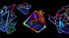 Neon Wallpaper Marvel