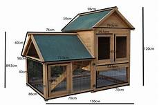 giant rabbit hutch guinea pig cage chicken coop house 1