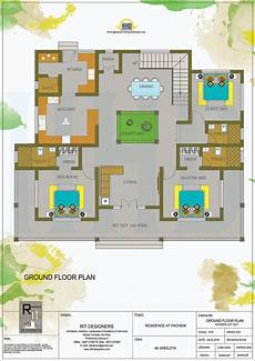 kerala house floor plans kerala traditional home with plan kerala home design and