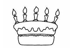 Kinder Malvorlagen Torte Ausmalbilder Geburtstagstorte Ausdrucken