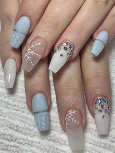 100 easy acrylic winter nails and color ideas 2019 soflyme